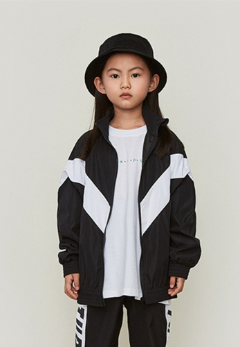 Colorblock jacket windbreaker thin coat