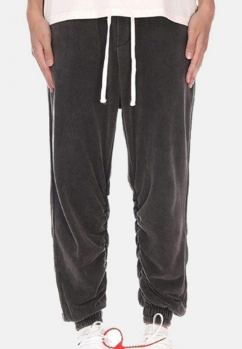 Fog retro loose-legged leisure pants