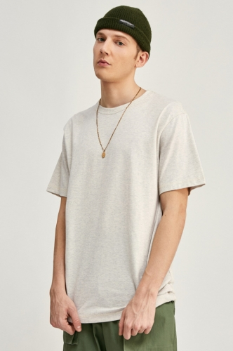 185G Solid Color Fine cotton 2020 Spring Summer T Shirt