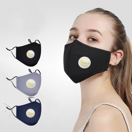 Custom Fashion Masks With breather Valve