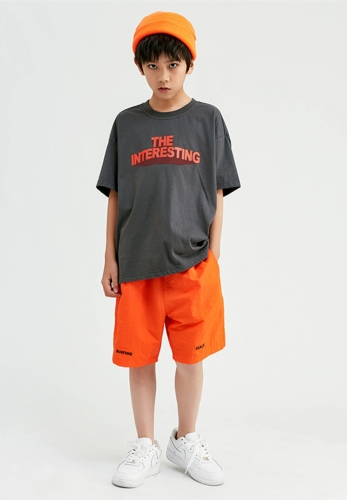 Boys short sleeve T-shirt loose