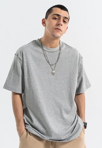 220G Oversize Seams Inside Out Organic T Shirt