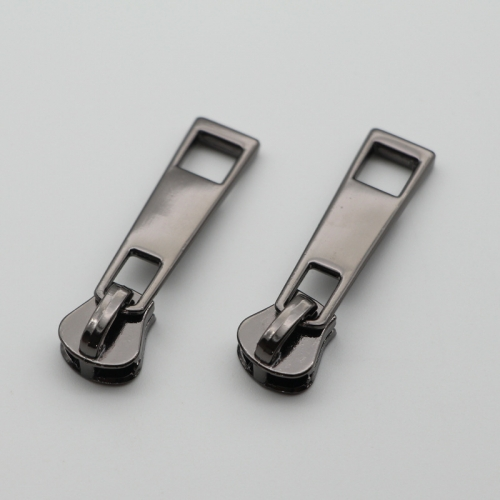 HIgh End Metal (Copper) Zipper Head + Zipper Puller 10 pcs set