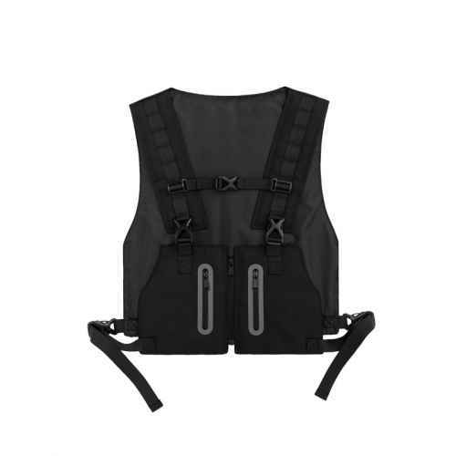 Industrial body armor style chest bag2.0
