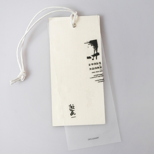 Customized cotton clothing tags