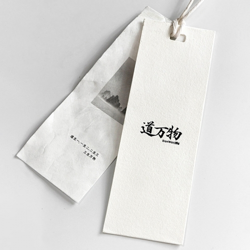 Customized Chinese style design tag label