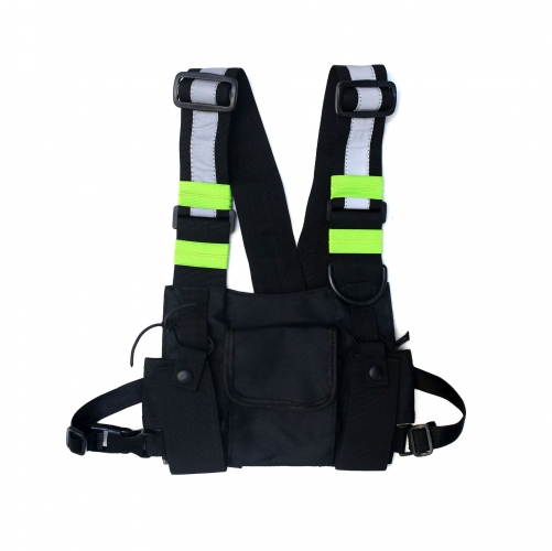 Chest rig bag tactical style bag