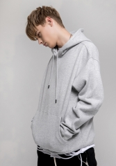 350G Oversize streetwear drop shoulder loose hoodie