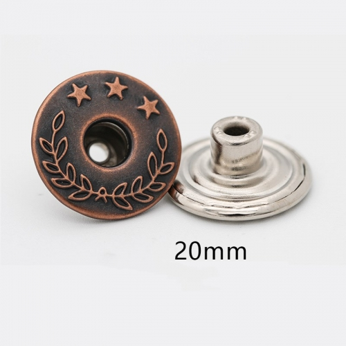 20MM Jeans Button