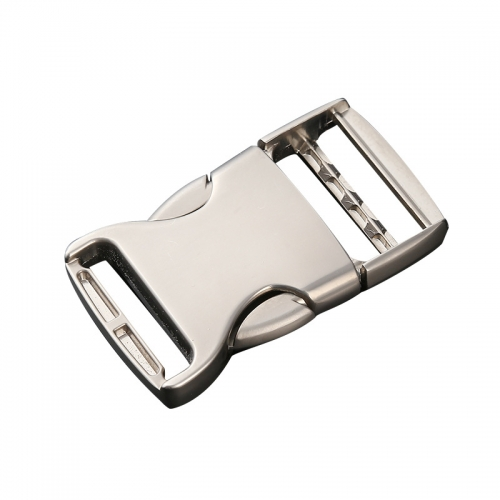 Zinc alloy luggage and backpack adjustment buckle 5 pcs in 1 set
