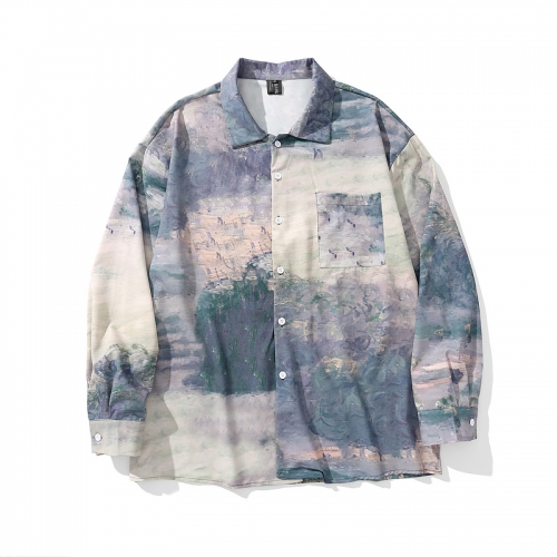 Landscape painting shirt