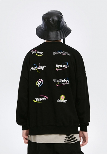 Environmental protection series sweater