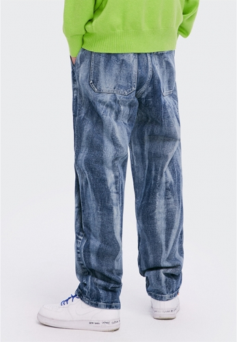 2020 New washing style loose jeans