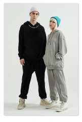 360g Terry Falling Shoulder Oversize Hoodie and Pants SIUT
