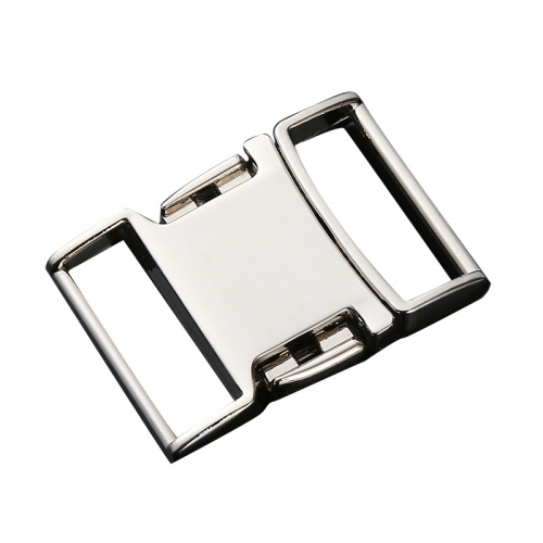 Metal buckle 25mm alloy waist adjustment safety buckle