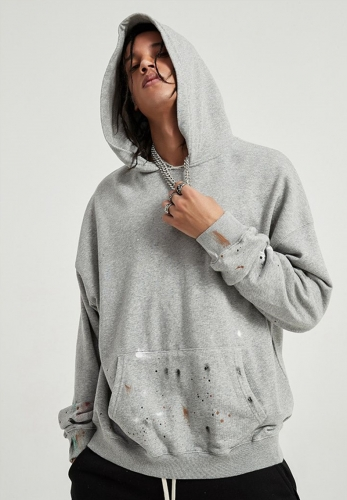 Sankou splash ink sweater hoodie bisc style